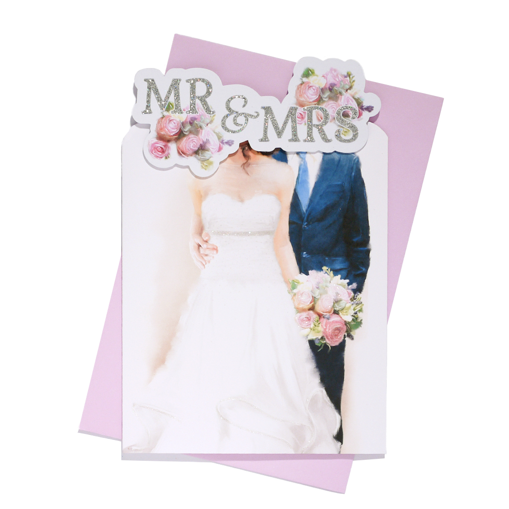 6pk Cards C75 Wedding Day