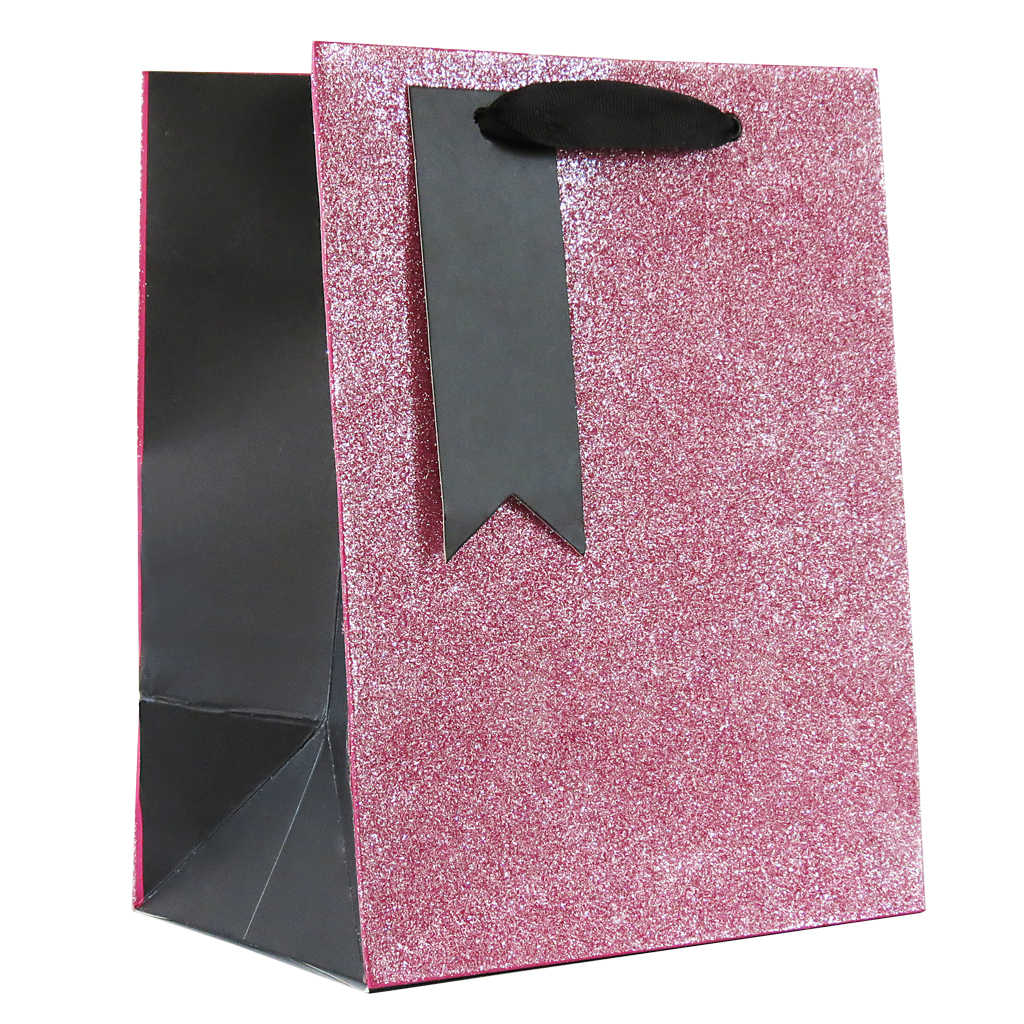 6pk Giftbags Medium Portrait Pink