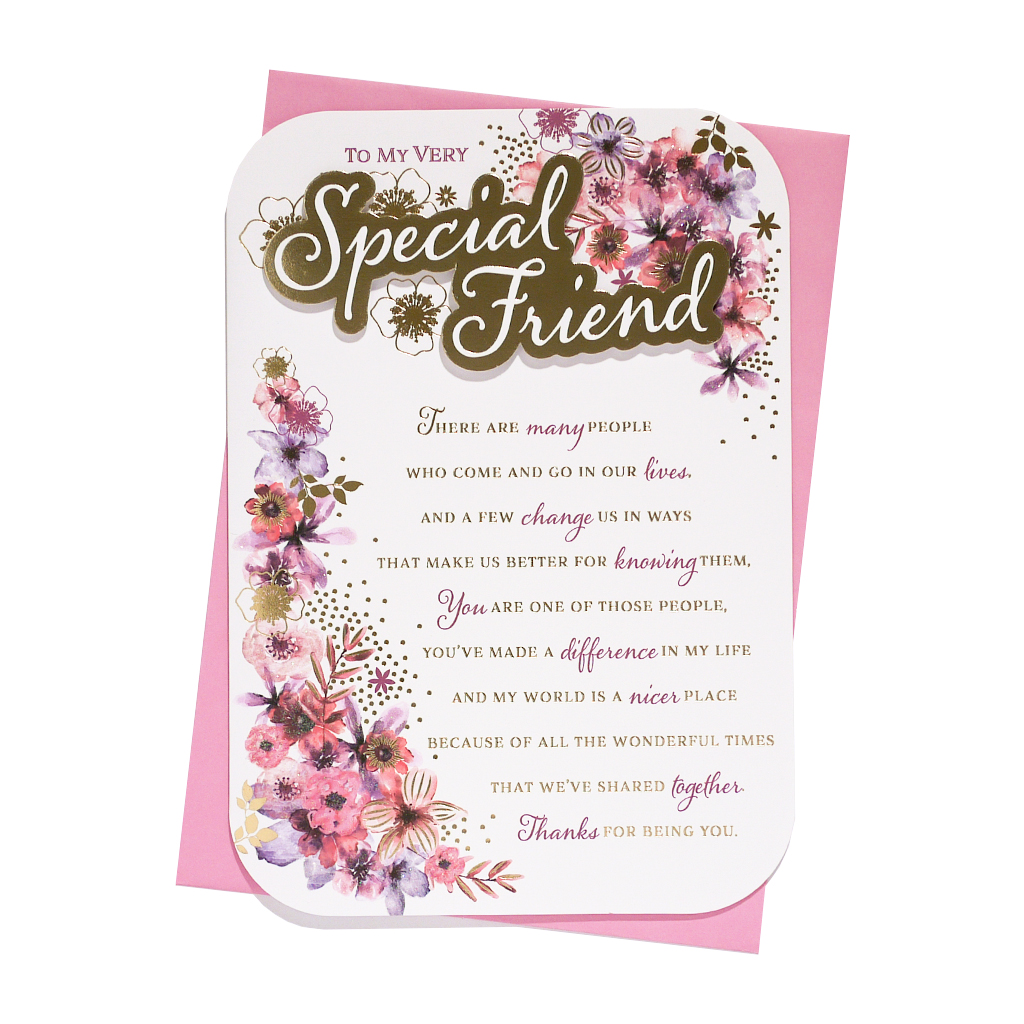 6pk Cards C90 Birthday Friend