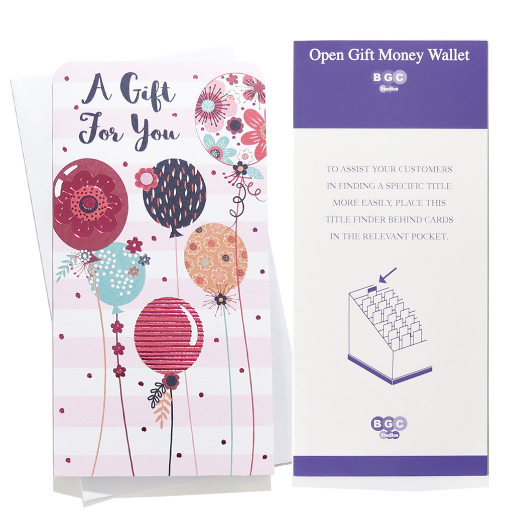 12pk Money Wallet Birthday Open