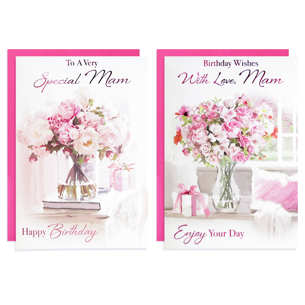 12pk Cards C50 Birthday Mam