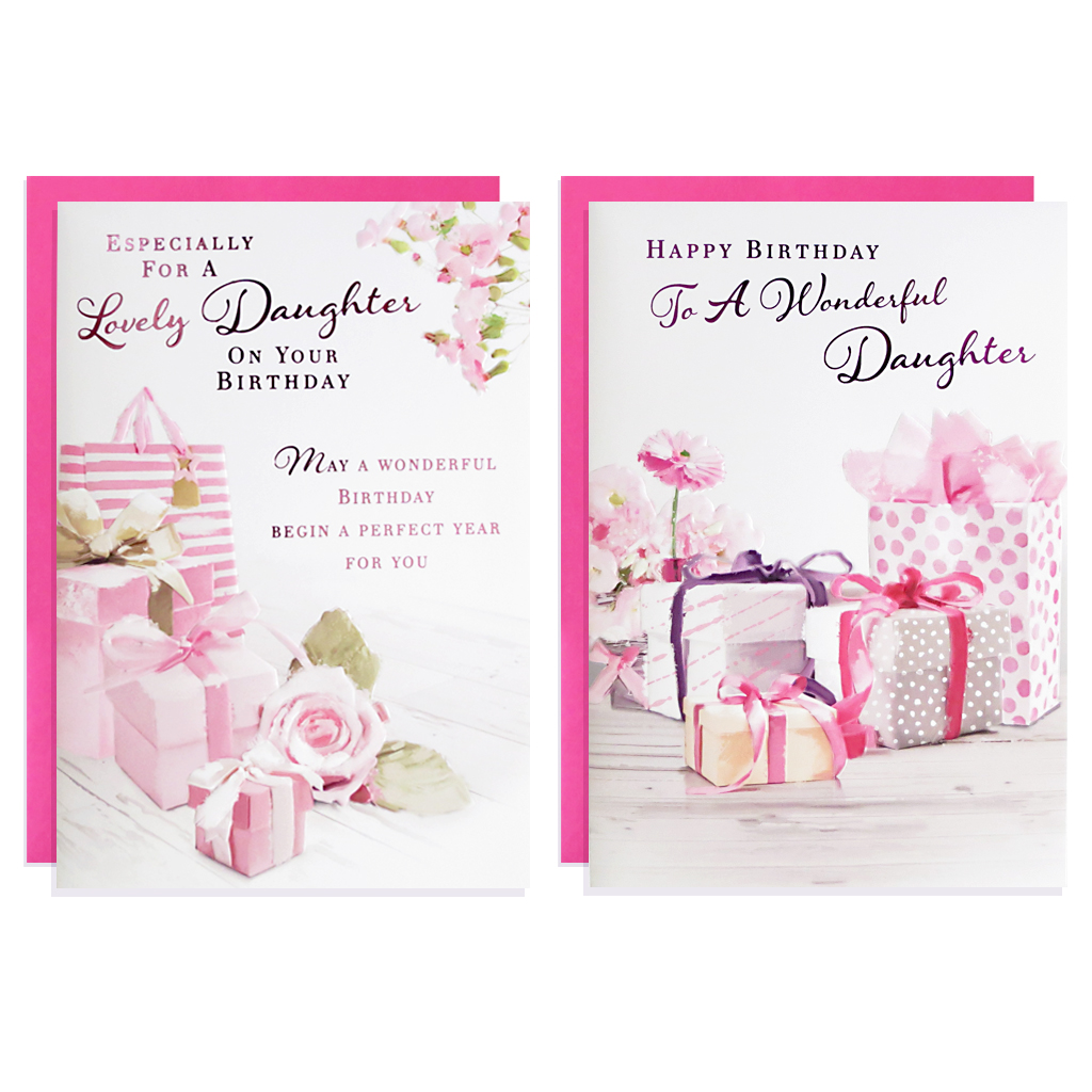 12pk Cards C50 Birthday Daughter