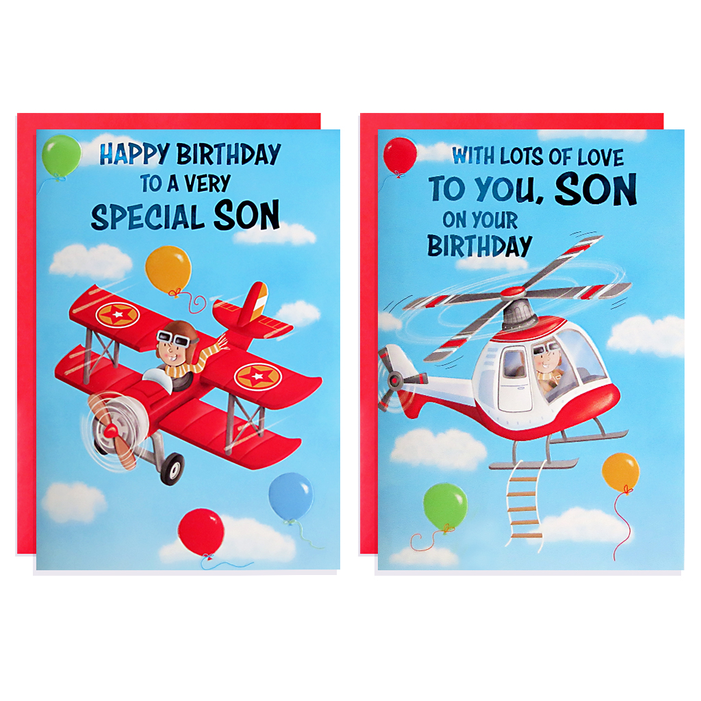12pk Cards C50 Birthday Son