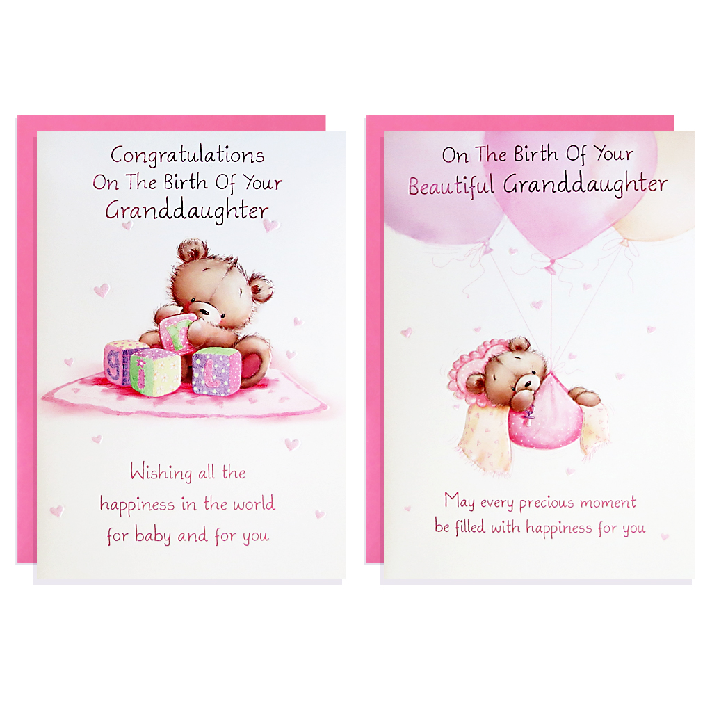 12pk Cards C50 Birth To Grandparents