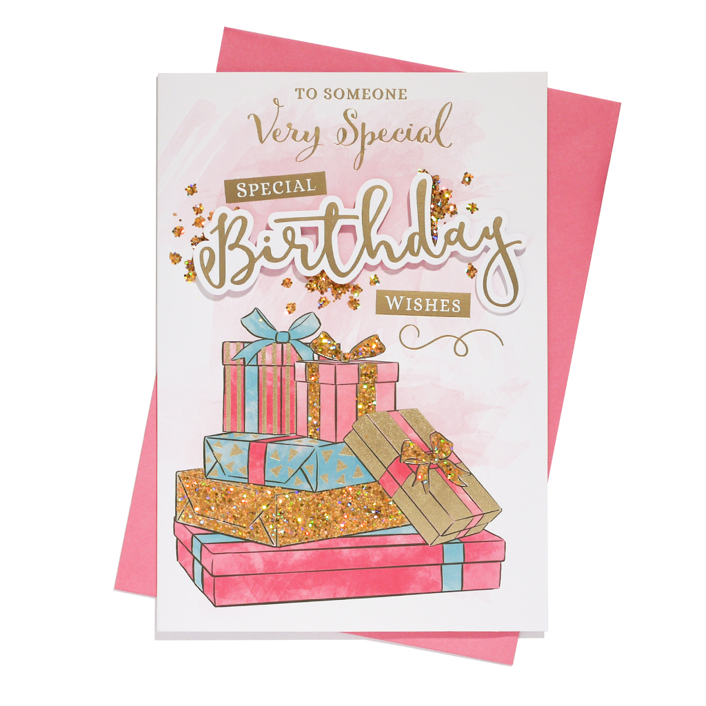 6pk Cards C90 Birthday Someone Special