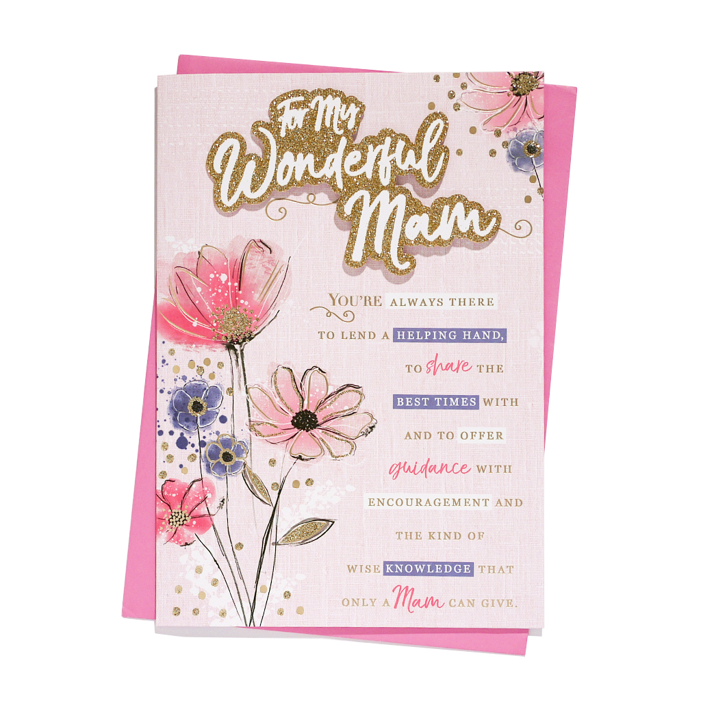6pk Cards C90 Birthday Mam