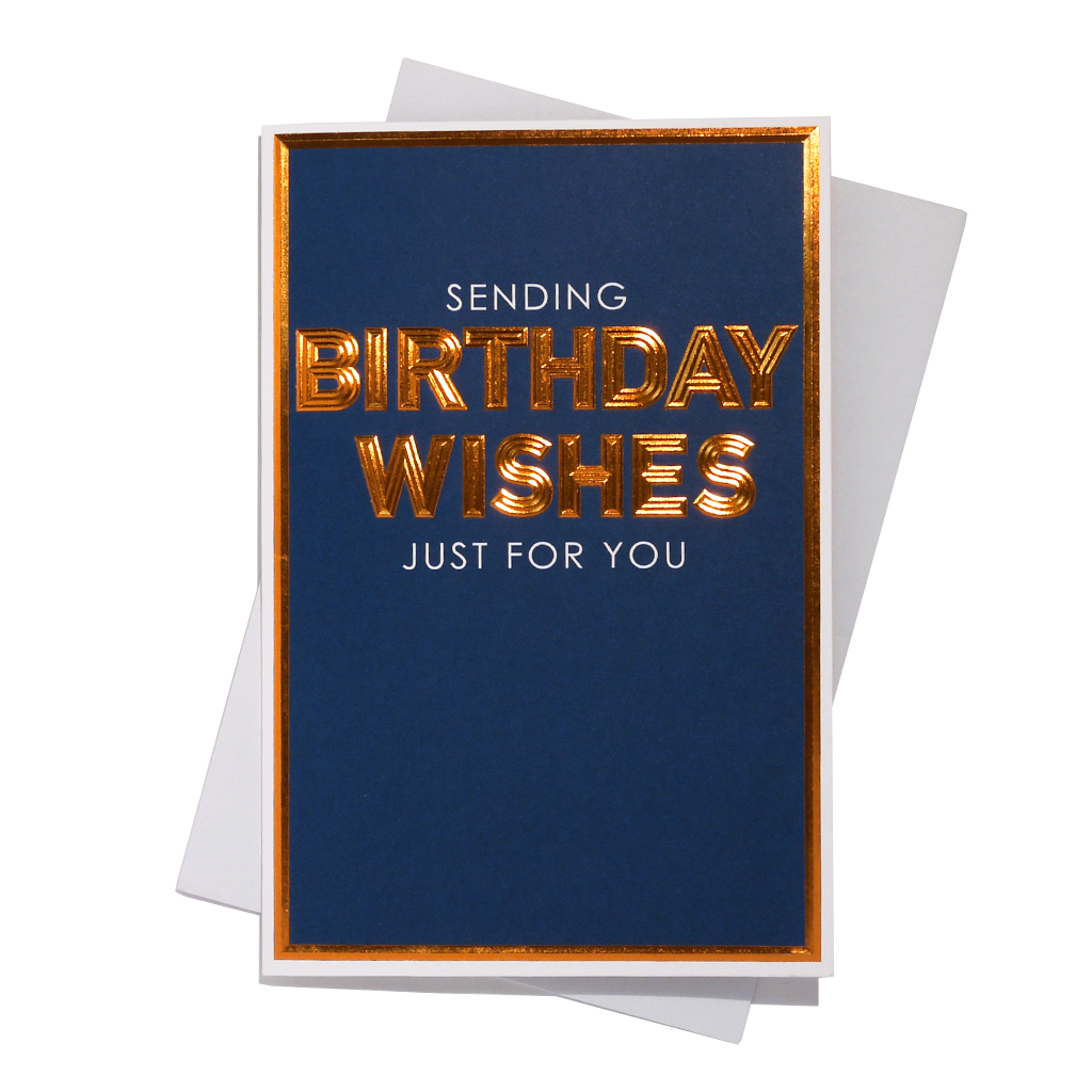 6pk Cards C75 Birthday Open
