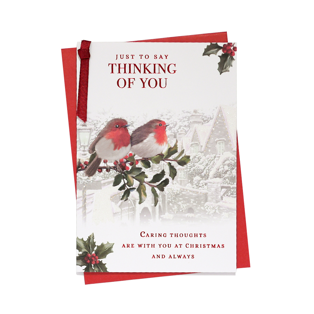 6pk Cards C50 Thinking Of You Christmas