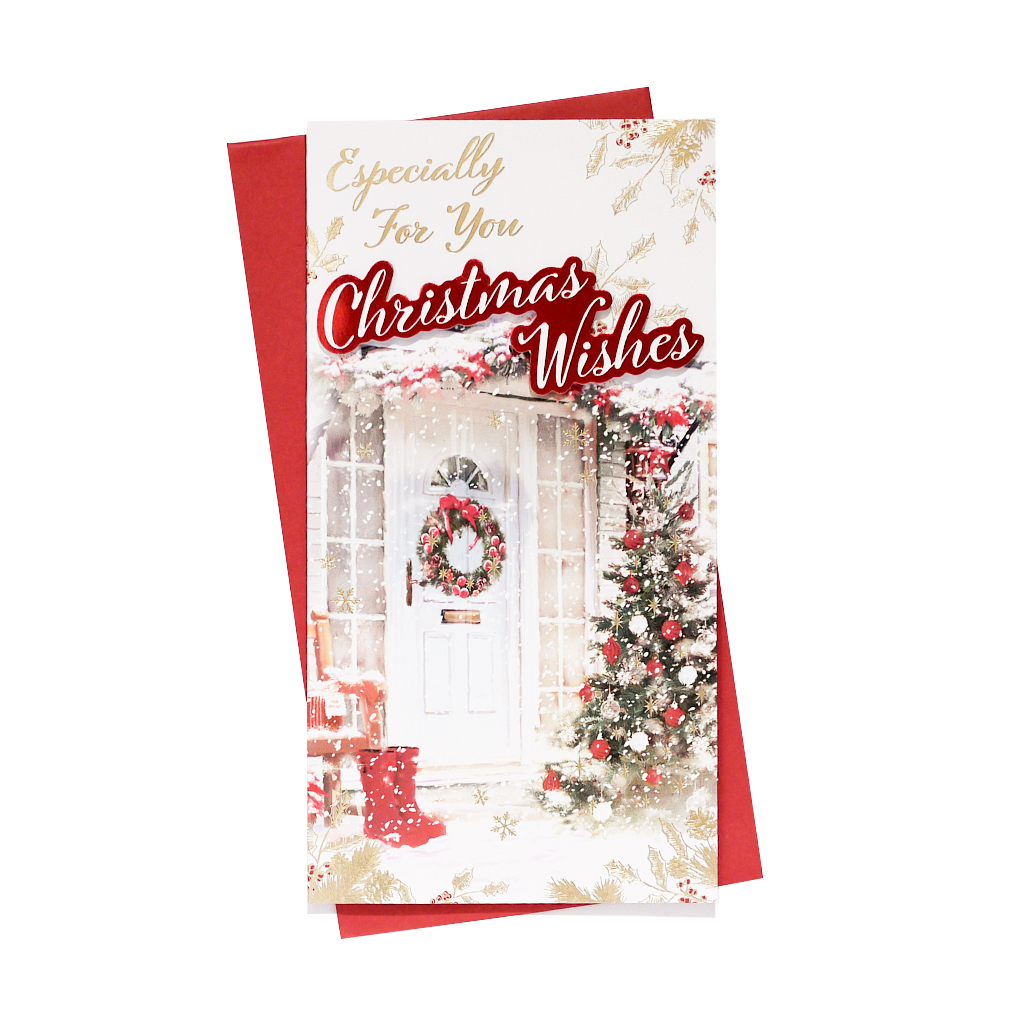 6pk Cards C55 Open Christmas