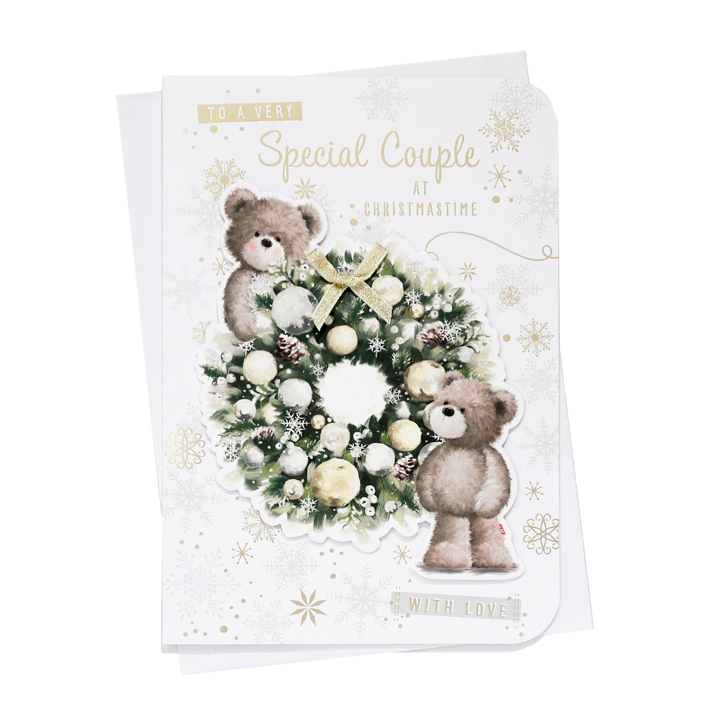 6pk Cards C90 Special Couple Christmas