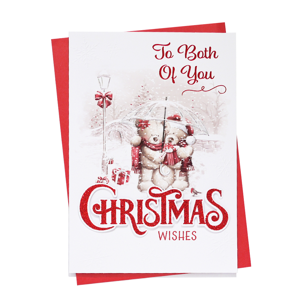 6pk Cards C90 To Both Of You Christmas