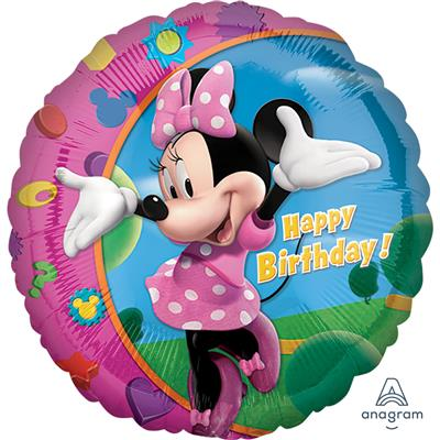 "1779701|5pk Foil Balloons 18"" Licensed Minnie S60"