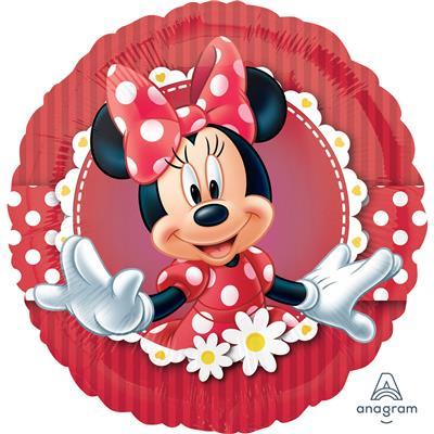 "2481301|5pk Foil Balloons 18"" Licensed Mad About Minnie S60"