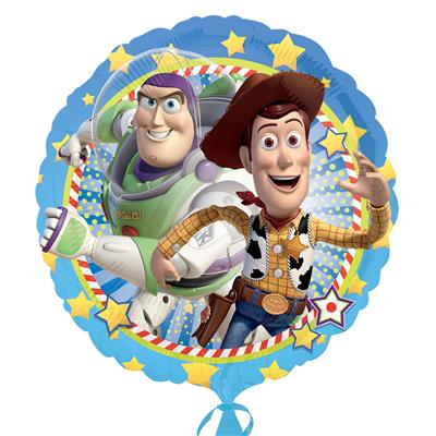 "2635701|5pk Foil Balloons 18"" Licensed Woody & Buzz S60"