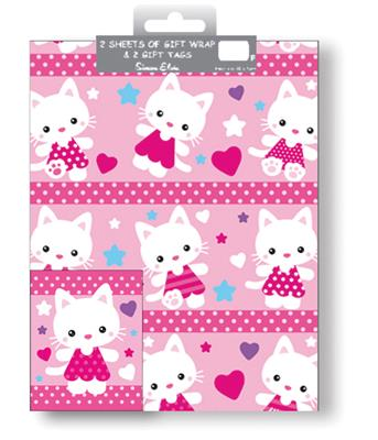 12F2575|12pk Folded Wrap & Tags Juvenile