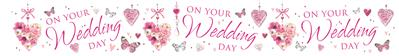 WB2020|12pk Wall Banners Wedding Day