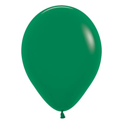 2000075|50pk Latex Decorator Balloons Sempertex Fashion Forest Green