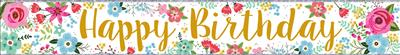 WB2111|12pk Wall Banners Birthday Open