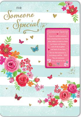 C80592|6pk Cards C75 Birthday Someone Special