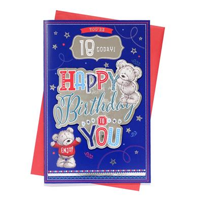 6pk Cards C150 Birthday Age 18