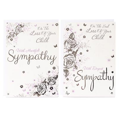 12pk Cards C50 Sympathy Loss Of Child