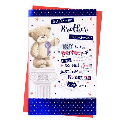 6pk Cards C375 Birthday Brother