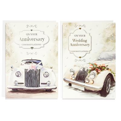 12pk Cards C50 Your Anniversary