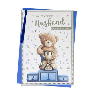 6pk Cards C90 Birthday Husband