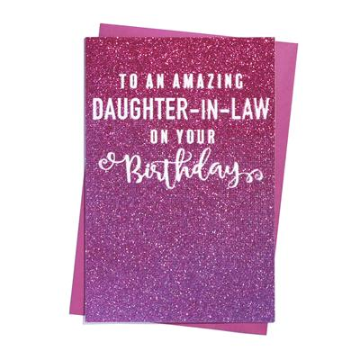 6pk Cards C75 Birthday Daughter-In-Law