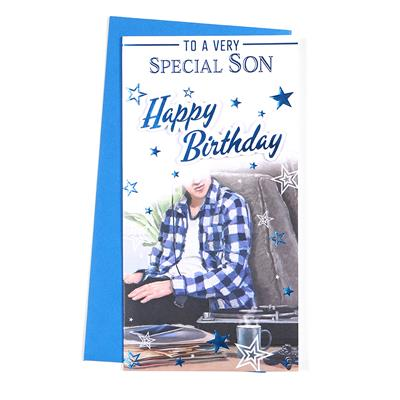 6pk Cards C55 Birthday Son