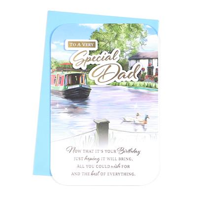 6pk Cards C75 Birthday Dad