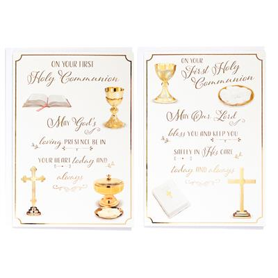 6pk Cards C50 Communion Open