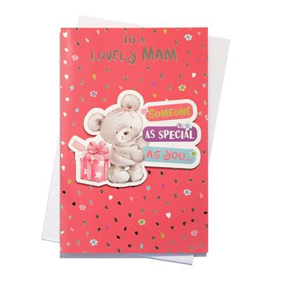 6pk Cards C150 Birthday Mam