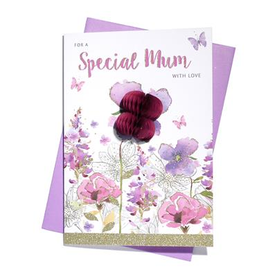 6pk Cards C75 Birthday Mum