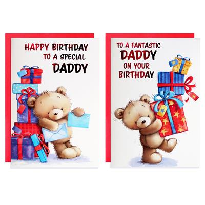 12pk Cards C50 Birthday Daddy