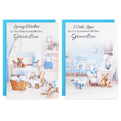 12pk Cards C50 Christening From Grandparents