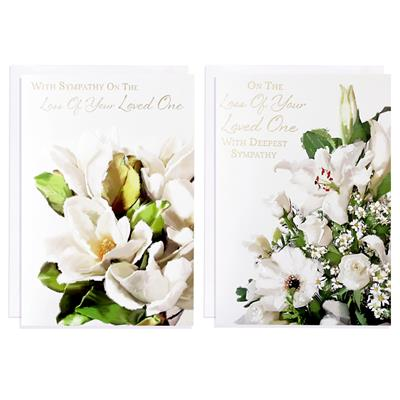 12pk Cards C50 Sympathy Loss Of Loved One