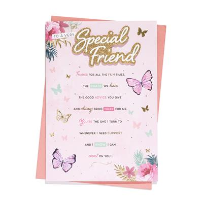 6pk Cards C90 Birthday Special Friend