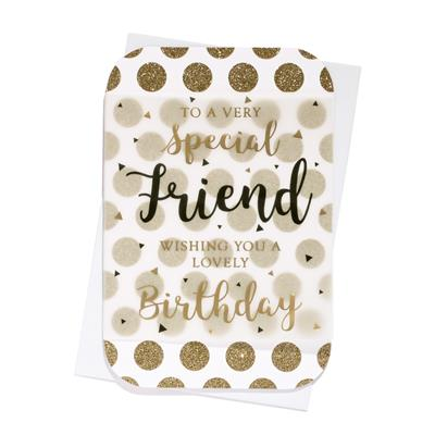 6pk Cards C75 Birthday Friend
