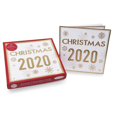 24 x 10pk Luxury Boxed Cards Open Christmas 2020 Christmas
