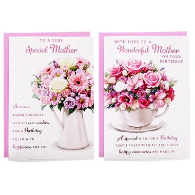 12pk Cards C50 Birthday Mother