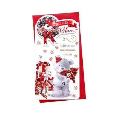 6pk Cards C55 Mum Christmas