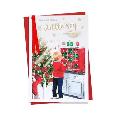 6pk Cards C50 Special Little Boy Christmas